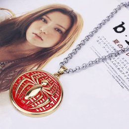 Wholesale 2015 Limited Collier Sautoir Long Colares Amazing Spider man European And American Popular Jewelry Necklace Sweater Chain Fine Shield Logo