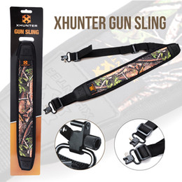 Wholesale Xhunter Gun Rifle Shotgun Sling Camo Textured Backing with inch Straps