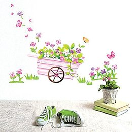 Wholesale Wall stickers home decoration Romantic wedding room entrance corridor bedroom background wall stickers affixed stickers balconies love float