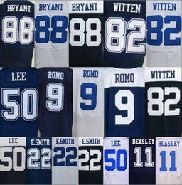 Wholesale Cheap mens all stitched Dez Bryant jersey Cole Beasley Jersey Tony Romo Sean Lee mens Jason Witten elite thanksgiving jersey
