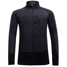 Wholesale Mammoth Brand Polartec Fleece Thermal Hiking Camping Jacket For Outdoor Mens Leisure Thin Quick Drying Clothing Jackets