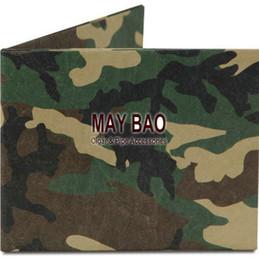 Wholesale Camo paper wallet Camouflagerecyclable Paper Wallet Camuflaje Militar camuflaje environmentally Wallet Army wallet