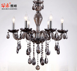 Wholesale project elegant chandelier crystal E14 candle lamp luxury hotel lighting fashion indoor light flush mount wall sconce V
