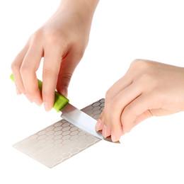 Wholesale Professional Anself Grit Diamond Whetstone Knife Sharpening Stone Knives Grindstone mm Sharpeners afilador cuchillo H16632