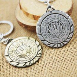 Wholesale Factory Direct Sales High Quality Statement Pendant keychain Battlestar Galactica Phoenix Key Chains
