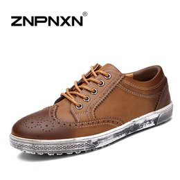 [ZNPNXNShoes] New 2015 genuine leather mens shoes casual European style men shoes Oxfords