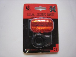 Bicycle tail light bicycle lights