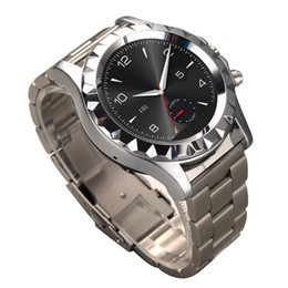 NO.1 SUN S2 Bluetooth Circular Dial Smart Watch Phone Stainless Steel Watch Band IP67 For Android phones via Bluetooth