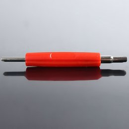 Wholesale 2Way Auto Car Motorcycle Tyre Tire Valve Stem Core Remover Insertion Repair Tool red color order lt no track