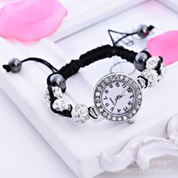 Wholesale 2015 Hot Sales Wristwatch Lovers Shambala Watches Korea Style Bracelet Watches Red Blue White Color