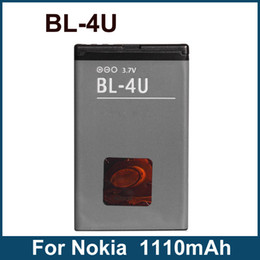 Wholesale BL U BL4U Batteries For Nokia E66 E75 Arte Slide Mobile Phone Battery High Quality mAh