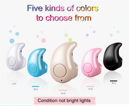 Mini Earbud Headphones S530 In-Ear Bluetooth Earphones Wireless Stereo Headsets Piano Paint Sports Headphone with Mic for iPhone Samsung LG