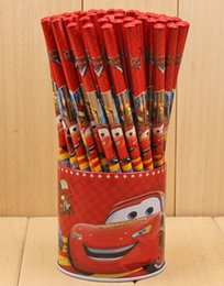 Free Shipping wholesale 72 Pcs lot Pixar Cars pencils Cartoon pencils Lovely pencil Gift