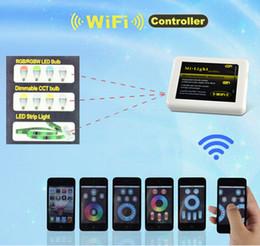 MOQ200 Mi Light Internet Remote Controll USB Port DC5V 500mA Compatible with 2.4G LED Controller for RGB RGBW LED Strip Light Bulb Downlight