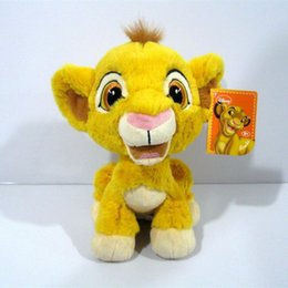 Wholesale Sitting height cm inch Original Cartoon Simba The Lion King plush soft toys Simba Plush toy for baby gift