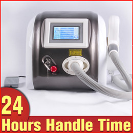 Tattoo Removal ND Yag Laser Eyebrow Cleaning Q Switch Birthmark Removal Machine for Home and Spa Use