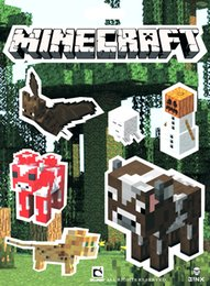 Wholesale quot New Arrive quot Sets Set Sheets Minecraft Stickers Creeper and other Character In Stock Same Day