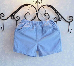 Wholesale-Children's wear the new summer 2015 Candy color pure color joker shorts YF008