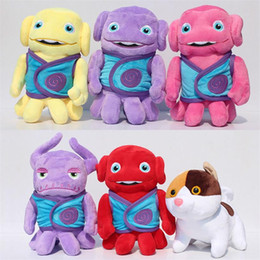Wholesale Boov Smek plush Toy cm Aliens Drive Me Crazy Of Oh In The True Meaning of Smekday Home Can Use To Gift For Kids