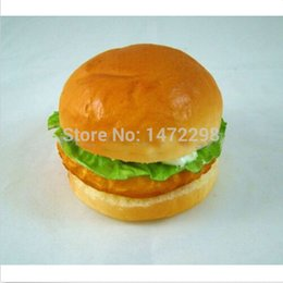 Wholesale Fake yummy Chicken Hamburger Plastic Artificial House Party Kitchen Decor