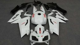 Injection mold Fairing Fit For Aprilia RS125 2007 2008 2011 bodywork RS 125 07 08 09 10 11 White Fairings set
