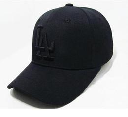 2016 Summer Style Hot Sale Cheap black Baseball Caps LA Dodgers Outdoors Snapback Curved Brim Bones Sombrero Hip Hop Hats Chapeu Unisex Caps