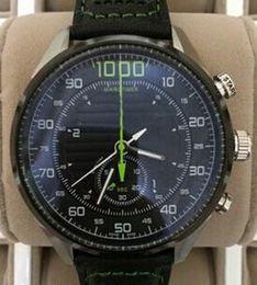 Luxury Swiss Tags 1000 Stopwatch Diver Mens Sports Quartz Chrono Watch Wholesale Prices Black Leather Men Dress Watches Original Box Papers
