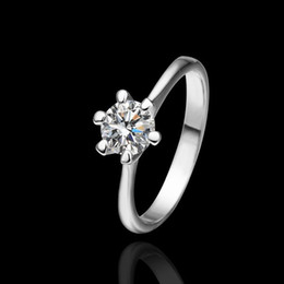 Free shipping Classic Lover's Ring Platinum Diamond Branded Engagement Wedding Rings for Woman,sales items ,high quality ring