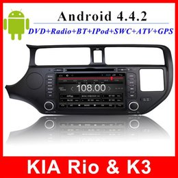 Autoradio Kia Rio K3 Android car dvd GPS Navigation TV 3G WIFI OBD AUX In dash 2 din 8 inch touch screen multimedia player