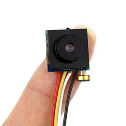 Wholesale 600TVL Mini Camera Home Security CCTV Micro HD Video Audio Hidden Pinhole DIY Camera PAL F4315B
