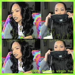 Top Quality Lace Front human hair wig body wave Virgin Brazilian Body Wave Full Lace Human Hair wigs