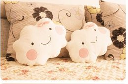 Wholesale by EMS Cute Cartoon Smiley Clouds Pillow Cushion Lovers Pillow Nap Pillow Best Gift