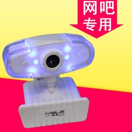 Wholesale USB HD Webcam LED Night Vision Web Cam Digital Web Camera Without MIC For Laptop Destop PC Computer Notebook