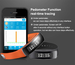 Wholesale fashion high definition S1 Smart bracelet pedometer support Wearable for iPhone S S P IOS7 Android smart watch