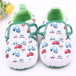 Wholesale Big Discount Baby Infant Toddler car Soft Sole fabric Shoes Baby First Walker Shoes For Month