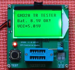 Wholesale 2015 NEW LCD Mega328 Transistor Tester Diode Triode Capacitance LCR ESR Meter
