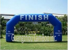Wholesale meters ft Span Inflatable Archway Event Arch Entrance Finish Line for Sports Events Race Arch