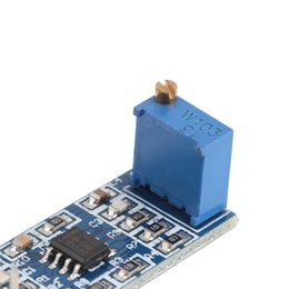 Wholesale Hot pc LM358 Gain Signal Amplification Module Operational Amplifier DC5 V High Quality