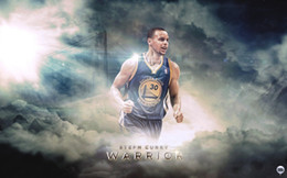 Wholesale quot x38 quot inch Stephen Curry Basketball Poster HD HOME WALL Decor Custom ART PRINT Silk Wallpaper unframed