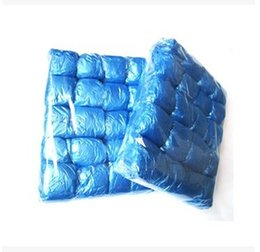 Wholesale Pe Elastic Disposable Plastic Shoe Resists Water Dirt and Mud Covers Protective Carpet And Floors Pack Of Shoe Covers CCC1112