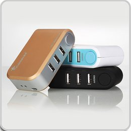 Wholesale Portable USB HUB Direct Chargers USB Power Bank Port USB Chargers High Speed Transfered Devices
