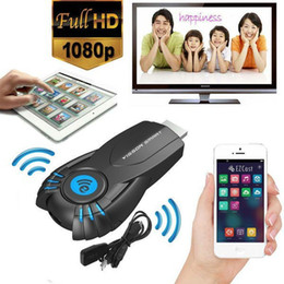 Androide tv stick dlna en venta-2015 Vsmart V5ii Ezcast WiFi Pantalla Receptor DLNA AirPlay miracast Dongle HDMI 1080P Smart TV palillo para Mac iOS de Windows Android