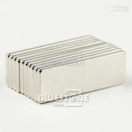 Aimant néodyme forte à vendre-Lots 20 pcs Super Strong Cuboid Aimant Bloc Rare Earth néodyme 30mm x 10mm x 2 mm Livraison gratuite