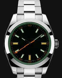 Wholesale gift good Wristwatches with Green Original box manual master Fashion new Automatic men watch Luxury sports Stainless steel Men s Watches