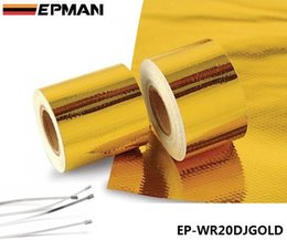 Wholesale EPMAN quot x5 Meter Roll SELF ADHESIVE REFLECT A GOLD HEAT WRAP BARRIER Hot Selling EP WR20DJGOLD