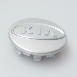 Wholesale Exterior Accessories Emblems KIA Chrome Wheel Center Caps mm Badge ALLOY Rims CEED OPTIMA SOUL SORENTO