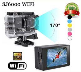 Hot Sale Action Camera Original SJ6000 WIFI Sports Camera 1080P Full HD Waterproof Cameras 2.0 inch digital Camera Sport DV Cam