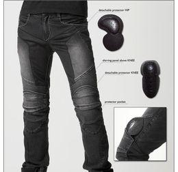 Wholesale New uglyBROS JUKE motorcycle riding jeans mesh racing pants Leisure summer edition ghj