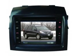 Wholesale For Toyota Sienna Radio CD car DVD Player GPS Navigation System Double Din Car Audio Installation Set
