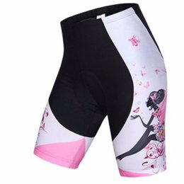 Wholesale-2015 Cycling Clothing Women's Cycling Shorts Bike Bicycle Pants Shorts GEL PAD